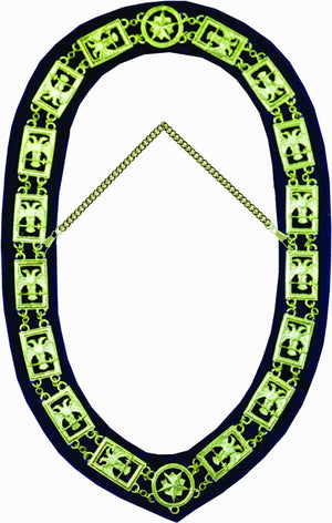 RSR11 Scottish Rite 32nd Degree Chain Collar