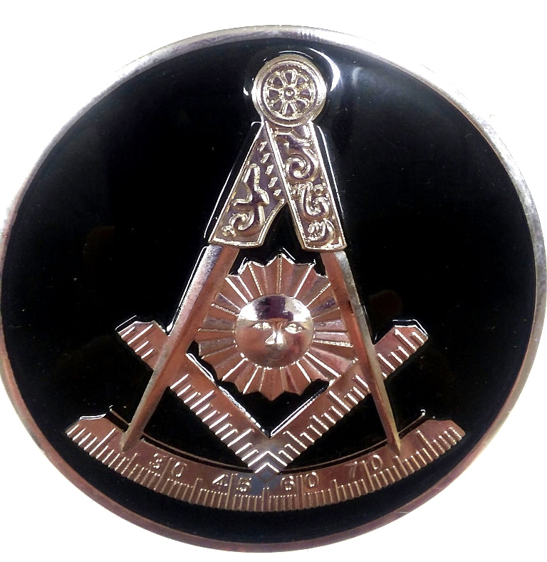 Masonic Cut Out Emblem with Attributes