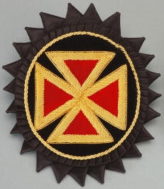 D7066 Rosette for Chapeau - Grand Commander in Bullion