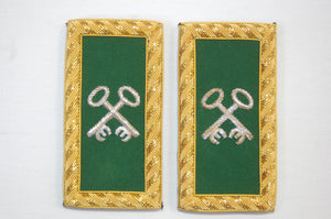 D7073 Shoulder Boards Treasurer (Pair) BULLION