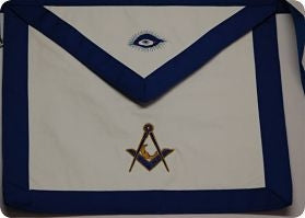 D5400 Masonic Velvet Officer Apron Set 11 pieces MADE IN THE USA