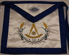D3560 Past Master Apron (CHOICE OF MATERIAL)