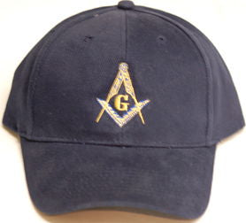 D9982 Navy Blue Cap with S & C