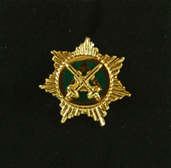 D2383 Lapel Pin Knight Mason