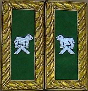D7053 Shoulder Boards Generalissimo (PAIR) BULLION