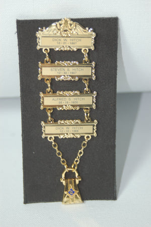 D2212 Four Bar Lewis Jewel (Call to Order)