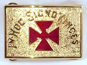RKT33GR Belt Buckle Grand Commander