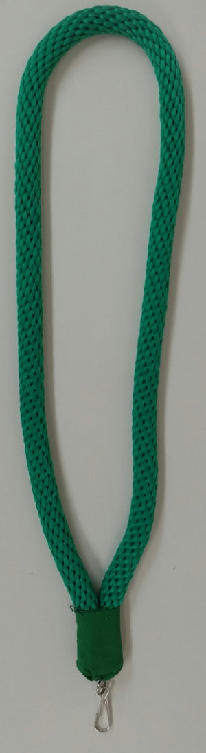 D2601 Collar Cord Green Masonic York Rite 1/2 inch with Jewel Hanger