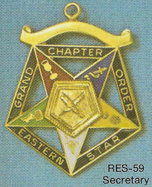 DRES-59 OES Grand Chapter Secretary