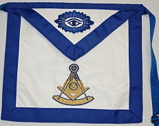 D3025 Past Master Apron  13 x 15 CHOICE OF MATERIALS