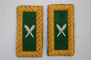 D7072 Shoulder Boards Recorder (Pair) BULLION