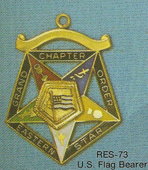 DRES-73 OES Grand Chapter US Flag Bearer