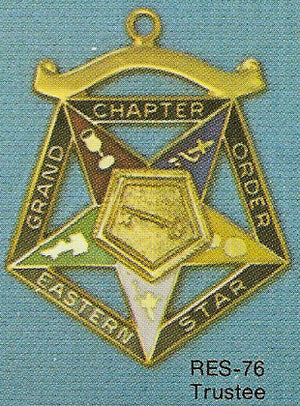 DRES-76 OES Grand Chapter Trustee
