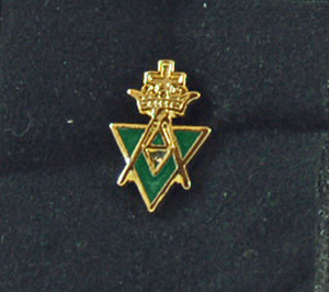 D2384 Lapel Pin AMD Allied Masonic Degrees