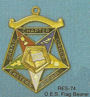 DRES-74 OES Grand Chapter OES Flag Bearer