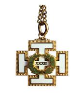 D32P 32nd Degree Pendant w/ Chain