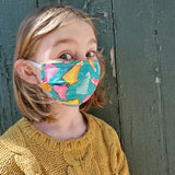 Pleated Face Masks - 2 Layer Cotton