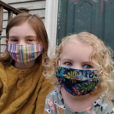 Child Size Pleated Face Masks - Choose Your Fabric!
