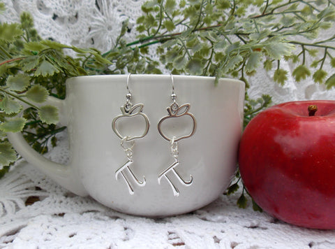 Apple Pi Earrings