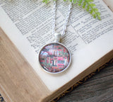 Book Stacks Necklace