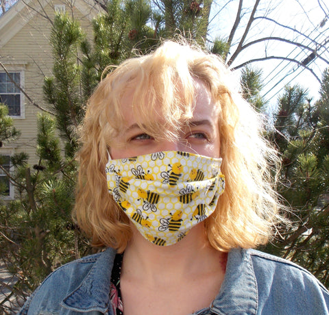 Custom Adult Cloth Face Masks - Choose Your Fabric!