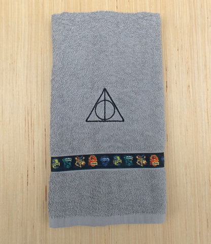Wizard Hand Towel - Grey