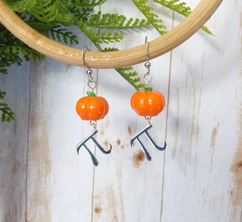 Pumpkin Pi Earrings - 2 Styles