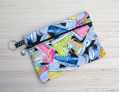 Sneaker Cosmetic Bag & Clutch Purse