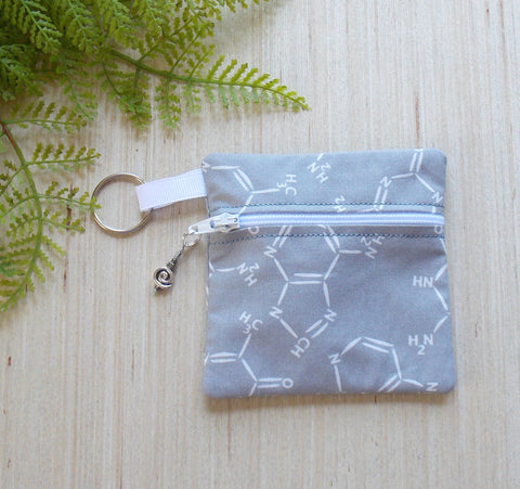DNA Molecule Ear Bud Case - Coin Purse