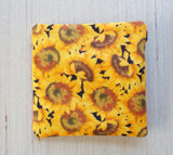 Sunflower Ear Bud Case - Coin Purse