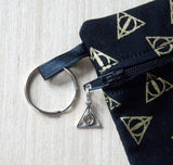 Deathly Hallows Clutch Purse Cosmetic Bag