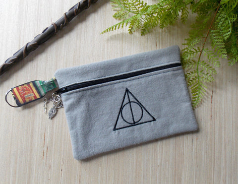Hogwarts Clutch Purse Cosmetic Bag