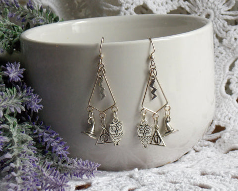 Wizard Chandelier Earrings