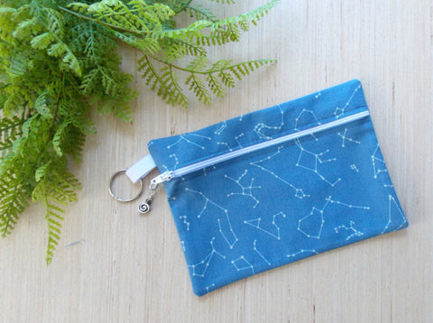Constellation Cosmetic Case - Blue