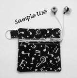 Constellation Ear Bud Case - Coin Purse