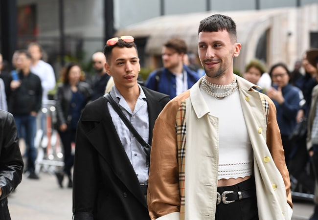 The best Jewelry seen at London Fashion Week Men's SS20