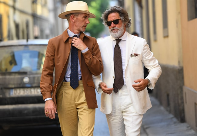 The best street style from Pitti Uomo SS20