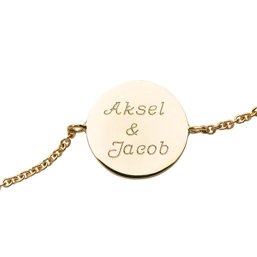 18kt Yellow Gold Mother Of Bracelet ,[product vendor],JewelStreet