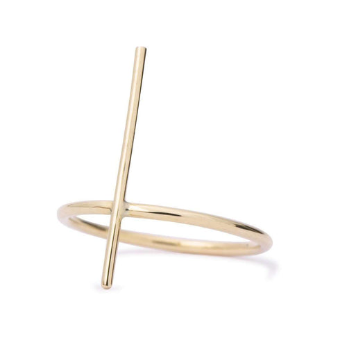 Foundation Pin Ring-Rosey West-JewelStreet US