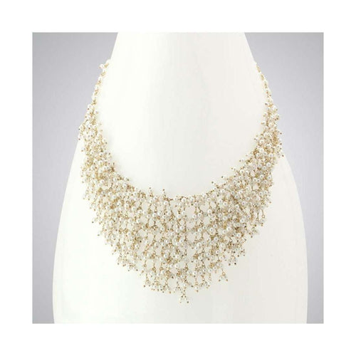 Pearl & Quartz Necklace-Elisa Ilana Jewelry-JewelStreet US