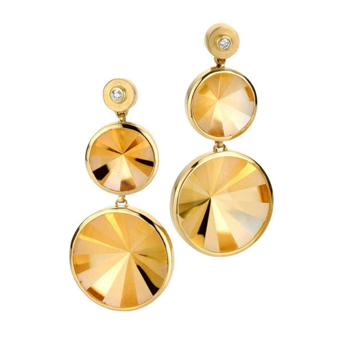Kaleidoscope Medium CT Earrings-Rose Carvalho-JewelStreet US