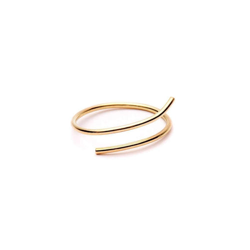 Essence Ring 18kt Yellow Gold ,[product vendor],JewelStreet