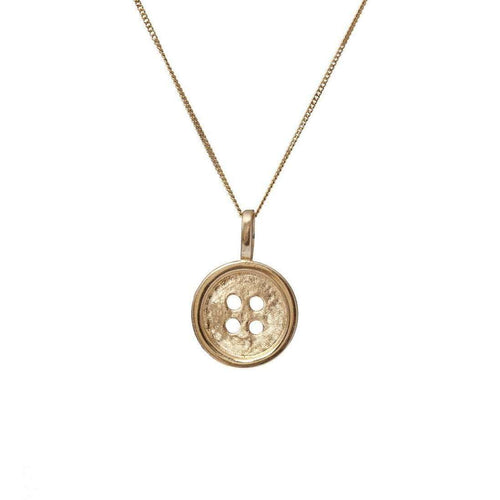 Button Pendant-Edge Only-JewelStreet US