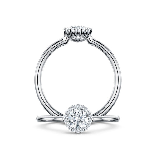 Cannelè Bridal Diamond Ring ,[product vendor],JewelStreet