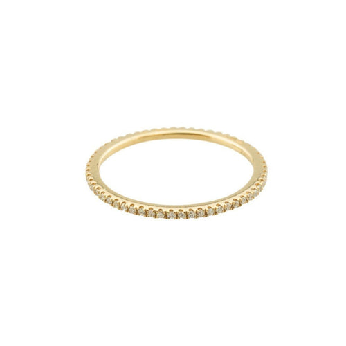 18kt Yellow Gold Caresse Diamond Eternity Ring ,[product vendor],JewelStreet