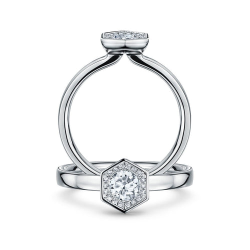 Chapiteau 33pt Platinum Ring ,[product vendor],JewelStreet