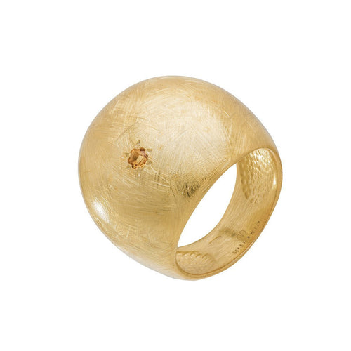 Citrine Veneto Dome Ring ,[product vendor],JewelStreet