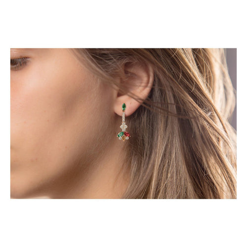 Delicate Sparkling Earrings ,[product vendor],JewelStreet