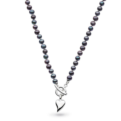Desire Lustrous Peacock Pearl Toggle Necklace ,[product vendor],JewelStreet
