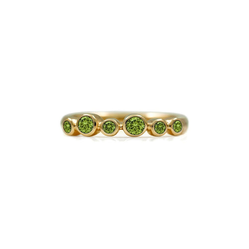 Halo Eternity Ring In Gold ,[product vendor],JewelStreet